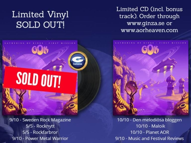 Gathering Of Kings First Mission Limited Vinyl Sold Out